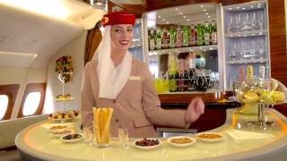 Cabin Tour | Two-class Airbus A380 | Emirates Airline