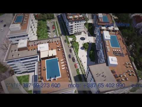 Prve tri zgrade budućeg kompleksa Centar u Trebinju u završnoj fazi - Prodato više od pola stanova