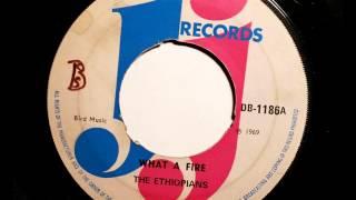 The Ethiopians What A Fire  - JJ Records