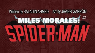 Miles Morales: Spider-Man #1 Launch Trailer