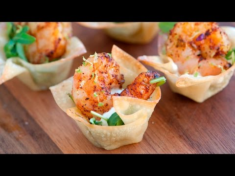 How to Make Chili Lime Baked Shrimp Cups – The Perfect Party Appetizer