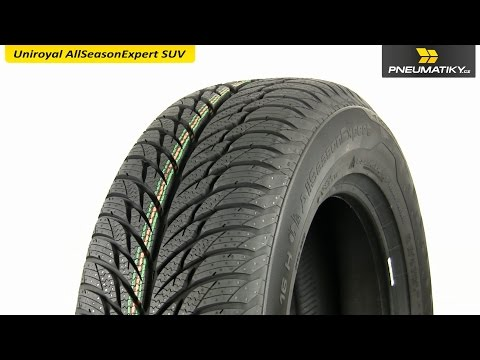 Youtube Uniroyal AllSeasonExpert SUV 225/60 R17 99 H FR Univerzální