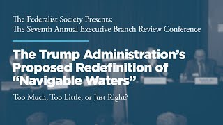 "Click to play: The Trump Administration's Proposed Redefinition of ""Navigable Waters"" – Too Much, Too Little, or Just Right?"