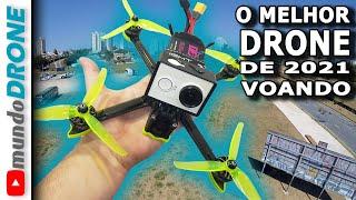 VOANDO com o MELHOR DRONE FPV de 2021