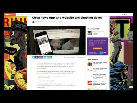 Review of iOS Circa News App