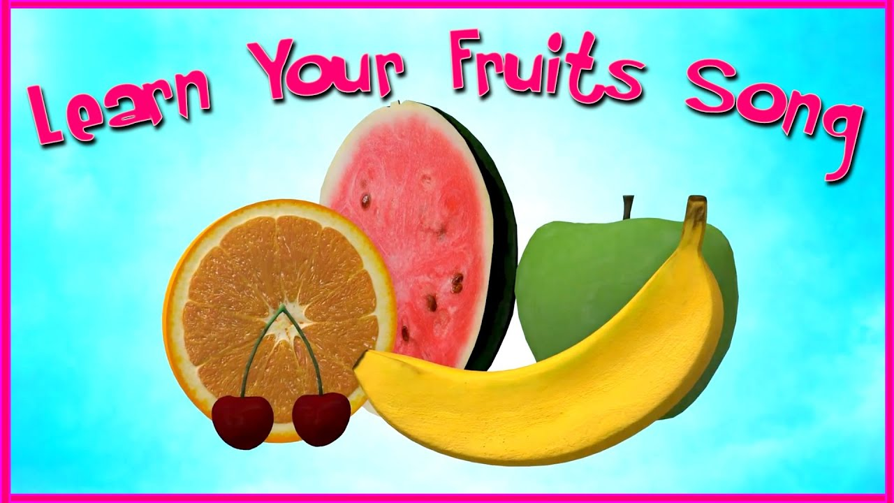 The Best Learn Your Fruits Video | Mini Monsters Music