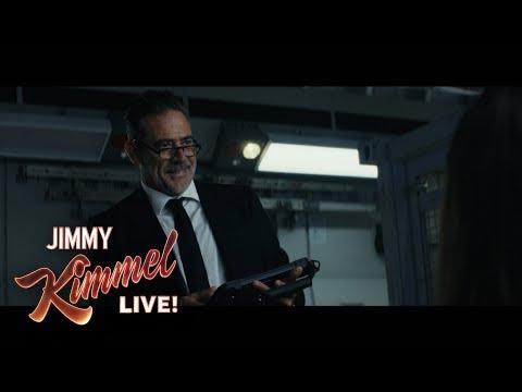 Jeffrey Dean Morgan and Dwayne 'The Rock' Johnson Stunt Fail (видео)