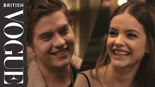 A Dinner Date With Barbara Palvin & Dylan Sprouse | British Vogue