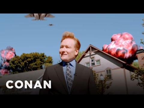 """Conan's Apocalyptic """"Fallout 4"""" Cold Open  - CONAN on TBS"""