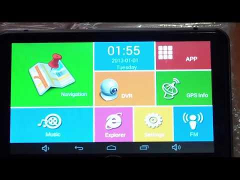 CARCHET GPS Con camara - Como Actualizar los mapas del Navegador iGO