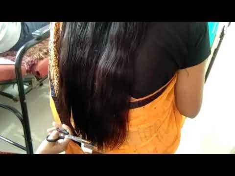 Long hair u cut deep