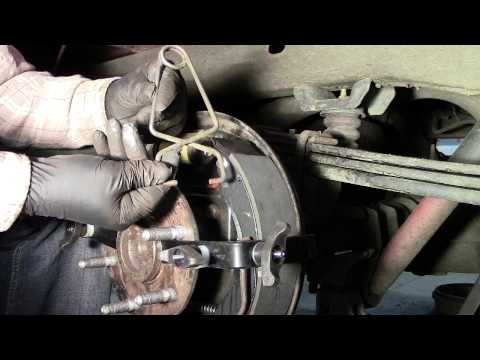 Emergency Brake Cable Install