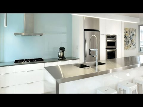 25 Stainless Steel Kitchens