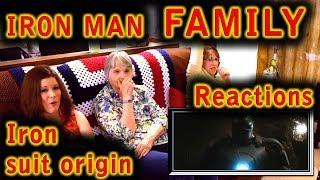 IRON MAN | Family Reactions | IRON MAN Origins | 1