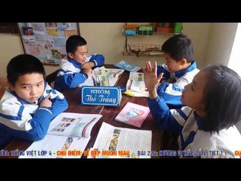 Môn Tiếng Việt 4 BÀI 22A Hương vị hấp dẫn t1 VNEN