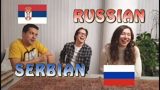 Similarities Between Serbian and Russian
