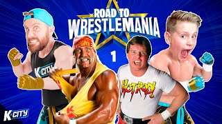 Chasing GOLD!! (Road to WWE WrestleMania 2021 Level 1) K-CITY GAMING