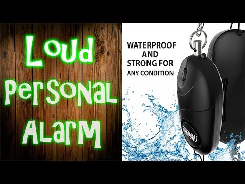 Personal Panic Alarm Review  🔪 ATTACKED! 🔪   Zekpro Emergency Personal Alarm Review