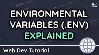 How to use Environmental Variables (.env) Files