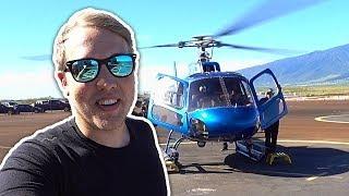 Let helikoptérou nad Jurským parkem [ VLOG ]