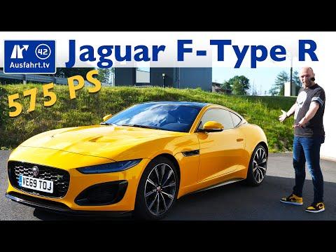 2020 Jaguar F-Type R Coupé - Kaufberatung, Test deutsch, Review, Fahrbericht Ausfahrt.tv