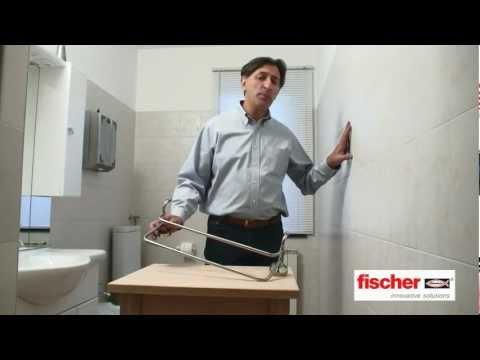 fischer Ready to Fix - Kit di fissaggio per gli accessori bagno