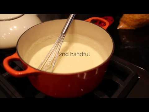 Video Easy Homemade Cheese Sauce Recipe