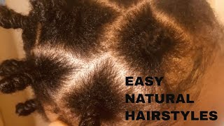 EASY NATURAL HAIRSTYLES PERFECT FOR SUMMER !