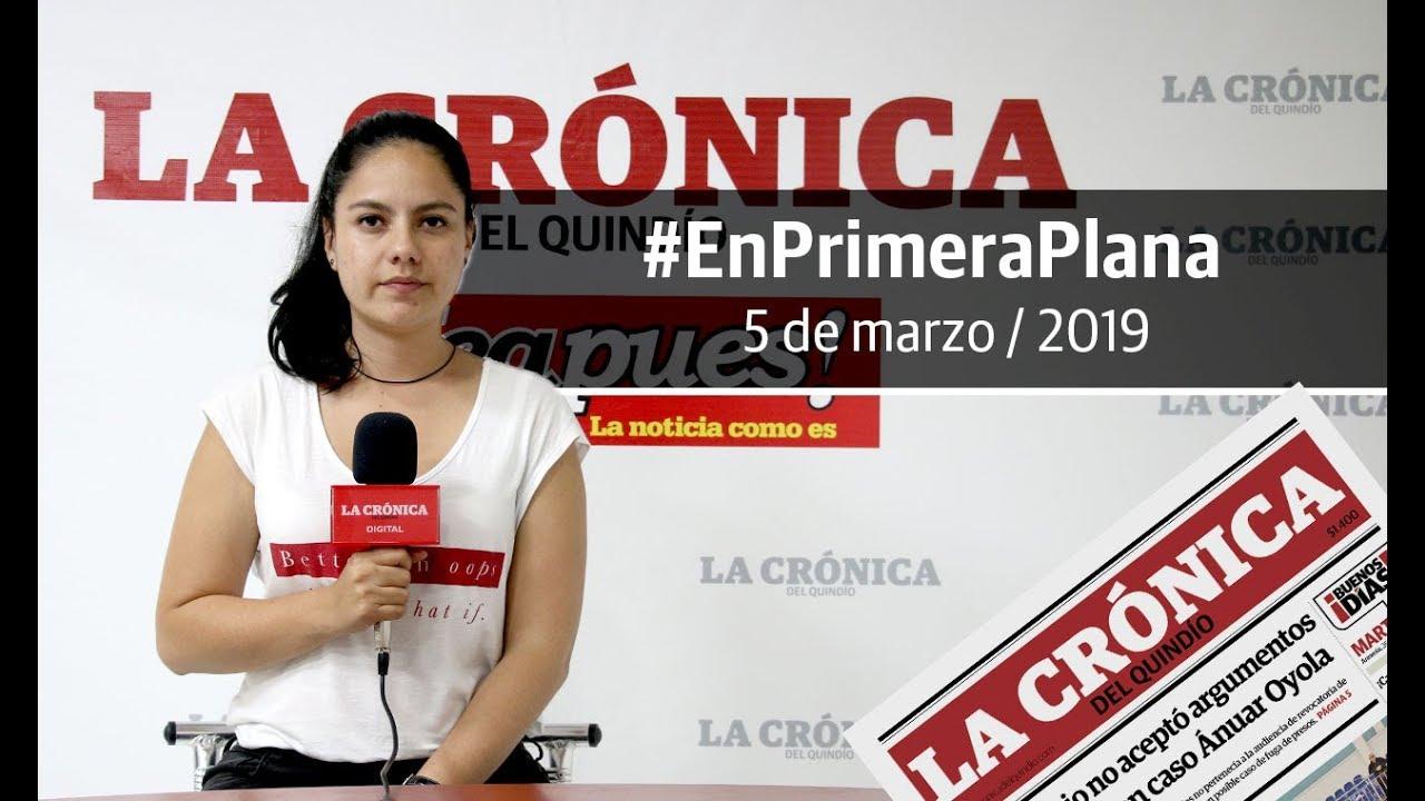 En Primera Plana: lo que será noticia este miércoles 6 de marzo