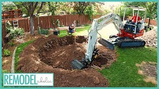 In-ground Trampoline Install Time Lapse | 14 Tips Before Installation | Remodelaholic