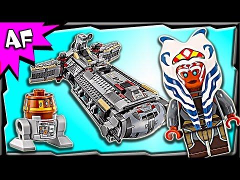 Vidéo LEGO Star Wars 75158 : La frégate de combat rebelle