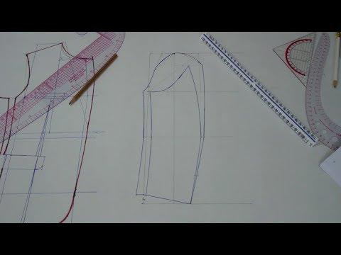 Jacket Schnitt Konstruktion Teil 3 Ärmel - Lilo Siegel