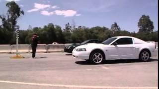 MUSTANG GT VS 01 MUSTANG BULLITT  (/REVENGE)
