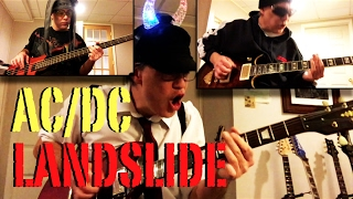 AC/DC -  LANDSLIDE ✬ Guitar & Bass Cover ✬ Complete All Parts