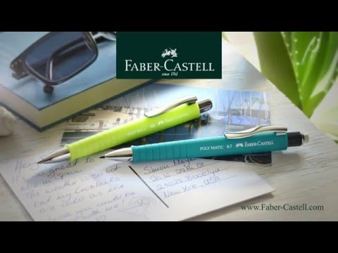 Faber-Castell:  Poly Ball XB and Poly Matic en