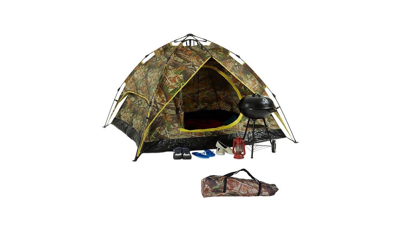 Video von: Campingzelt Camouflage für 2-3 Personen