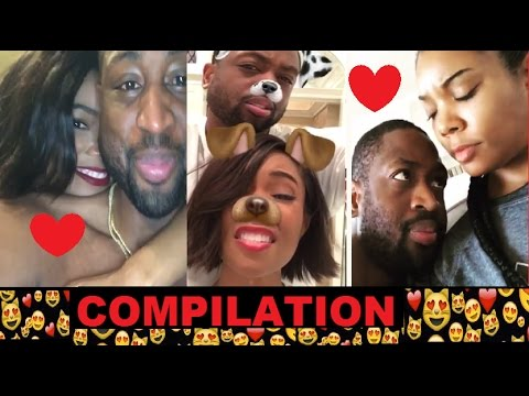 Dwyane Wade & Gabrielle Union Video COMPILATION #GOALS 💑😍❤️#BeingMaryJane