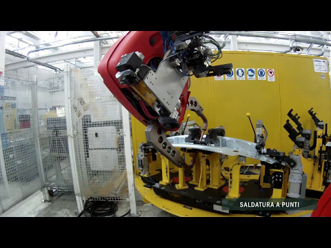 Isola di saldatura per SC23A+A13 - Maserati Levante - ARA Robot
