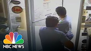 Surveillance Video Appears To Show Florida Commissioner Shooting Suspected Shoplifter | NBC News