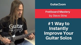 #1 Way to Instantly Improve Your Guitar Solos | Fretboard Mastery Workshop
