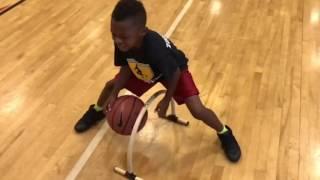 6 Year Old Basketball Phenom Enzo Lee Shows Off Crazy Ball Handling SKills