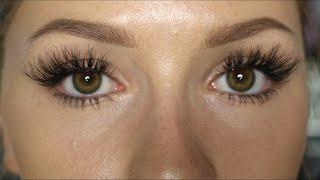 How To: Apply False Lashes (Social Eyes Lashes)