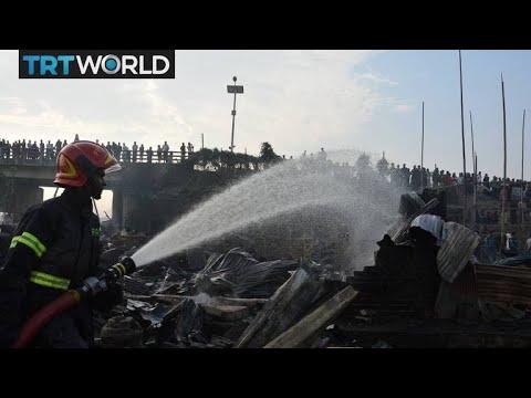 Bangladesh Fire: Fire in slum kills eight, more than 50 injured