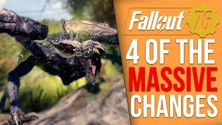 [Fallout 76] 4 Massive Gameplay Changes You Should Be Excited For