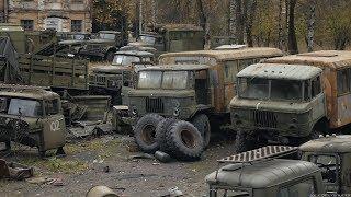Truk Militer Yang Ditinggalkan / Military Vehicle Graveyard