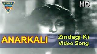 Anarkali Hindi Movie || Zindagi Ki Video Song || Pradeep
