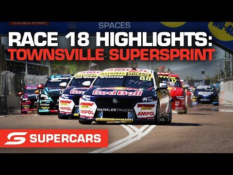SUPERCARS 2021 Townsville SuperSprint 決勝レース18のハイライト動画