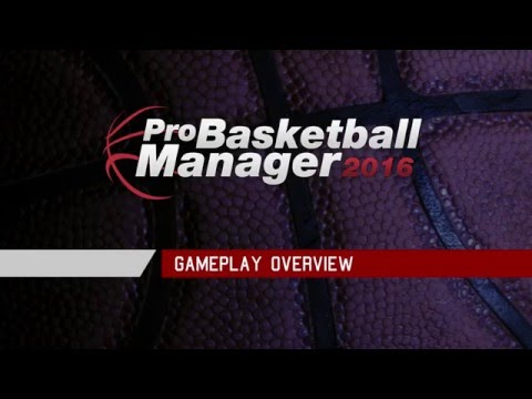 Pro Basketball Manager 2016 - Gameplay Trailer thumbnail