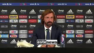 """Juve-Samp 3-0, Pirlo: """"Bene l'atteggiamento propositivo. Ho in testa squadra con centravanti"""""""