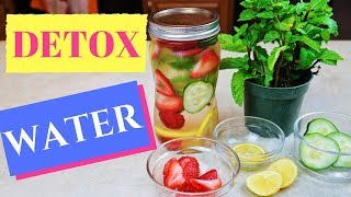 Detox Water Recipe For More Energy